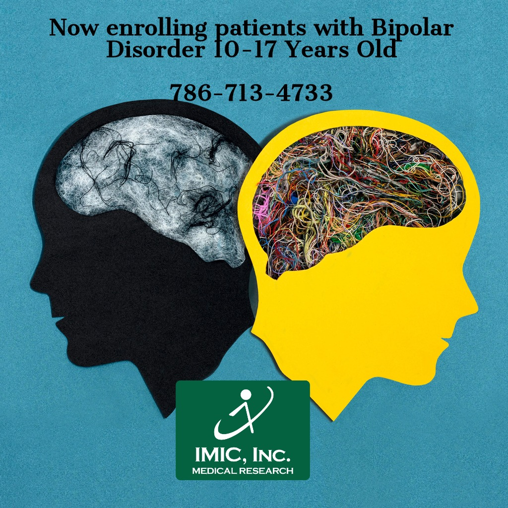 two stylized head silhouettes bipolar disorder1